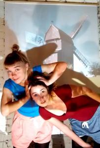 Clarissa Scheve und Julia Zimmermann